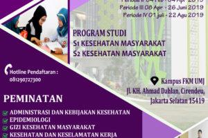 promosi fkm umj 2019 benar